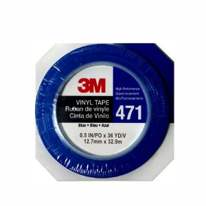 3M Blue 471 Fine Line Vinyl Pinstriping Tape 12mm x 32m
