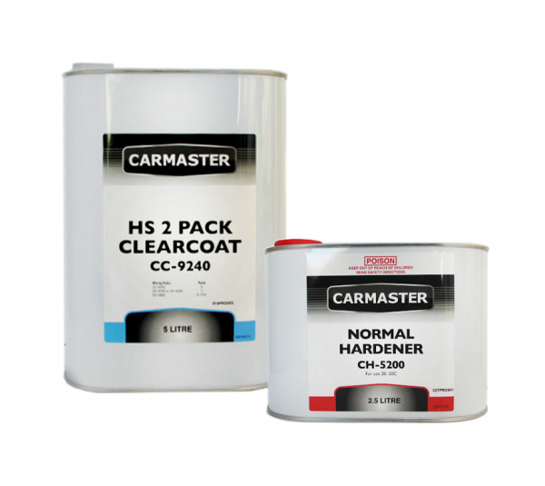 Carmaster High Solids 2K Clearcoat 7.5L Kit