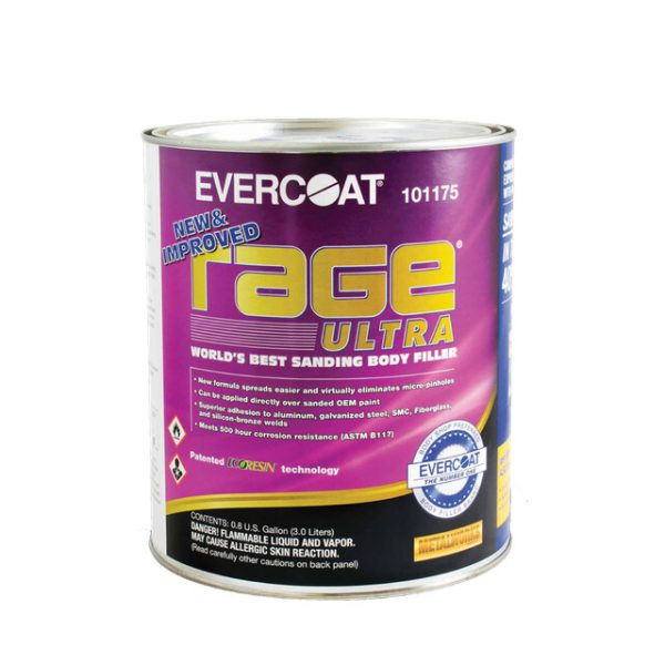Evercoat Rage Ultra – Premium Body Filler
