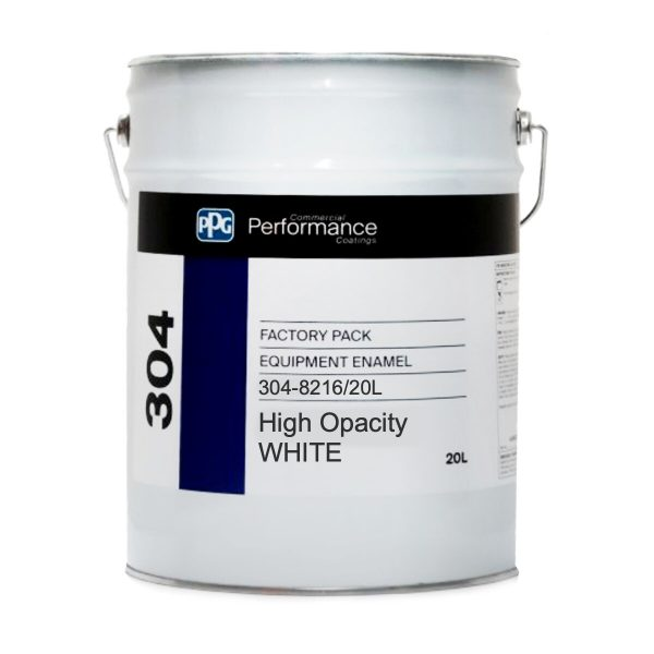 PPG 304 QD ENAMEL High Opacity GLOSS WHITE