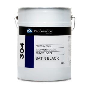 PPG 304 QD ENAMEL SATIN BLACK
