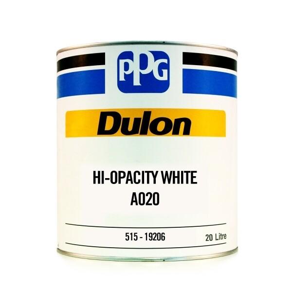 PPG Dulon Acrylic Lacquer HI-OPACITY WHITE