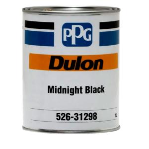 PPG Dulon Acrylic Lacquer MIDNIGHT BLACK