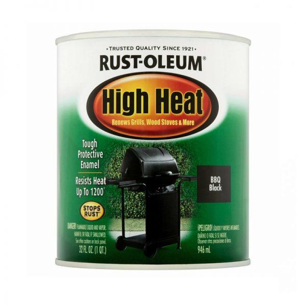 Rust-Oleum® Specialty High Heat Spray 946ml BBQ BLACK