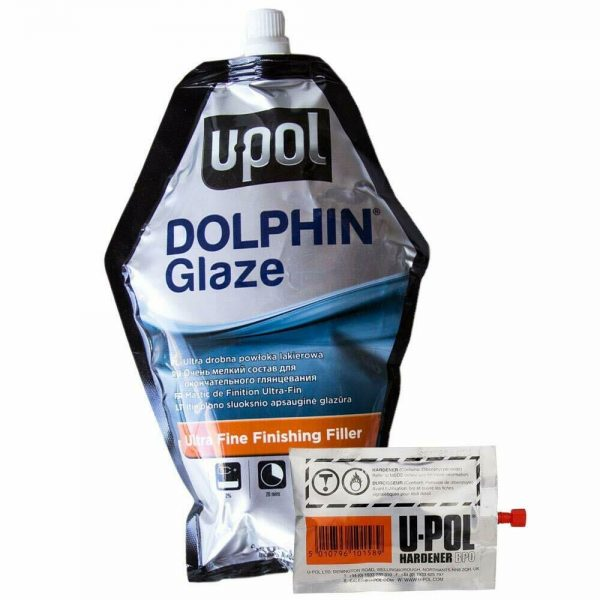 Upol Dolphin Self Leveling Glaze Ultra Fine Filling 440ml Bag