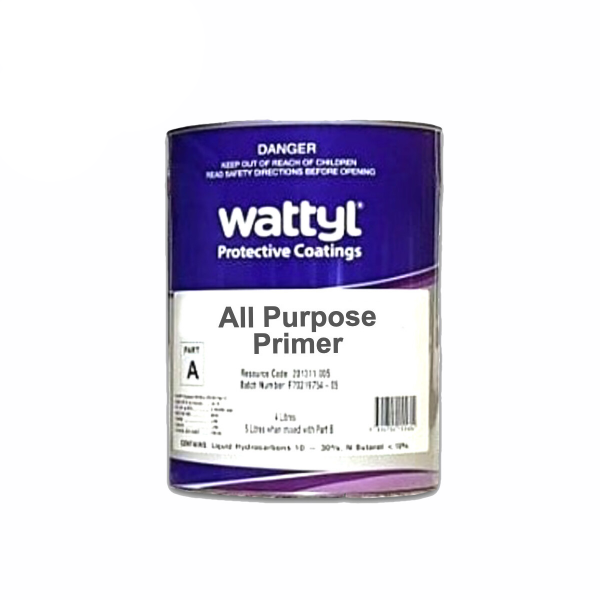 All Purpose PRIMER GREY 4L