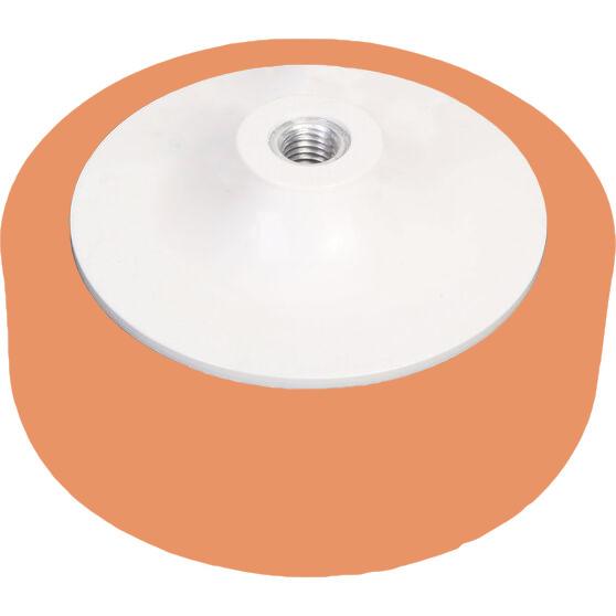 150mm Foam Polishing Buff Pad – Orange Firm