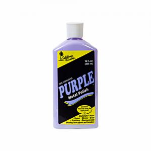 California Custom Purple Metal Polish 355ml