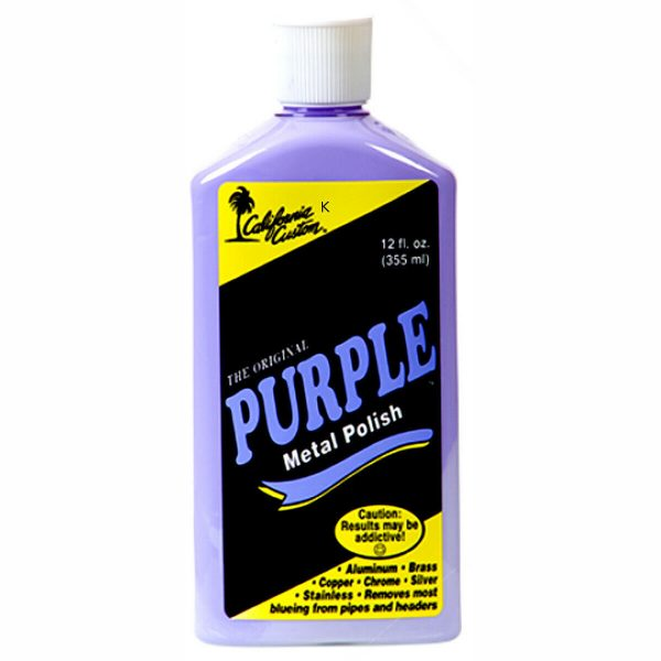 California Custom – Purple Metal Polish 355ml