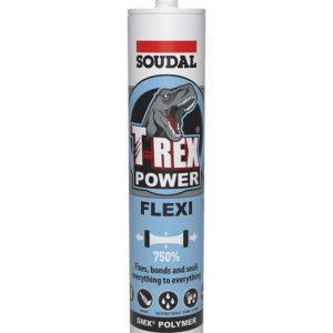Soudal T-REX Power Flexi Sealer Adhesive 290ml – White
