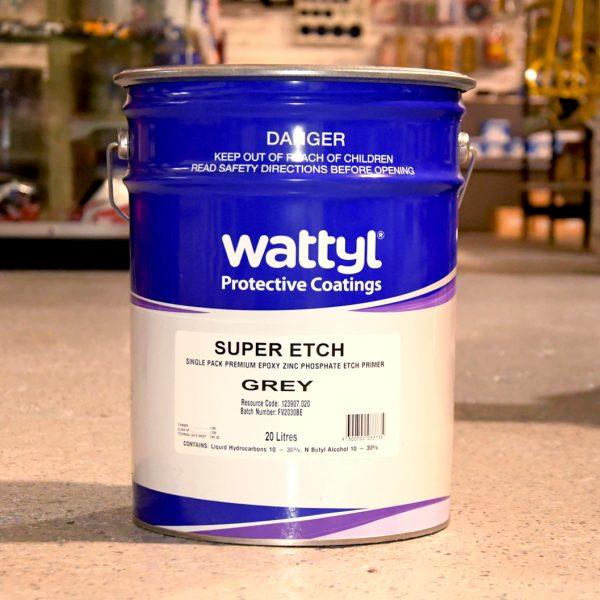 Wattyl Super Etch Primer Grey 20L