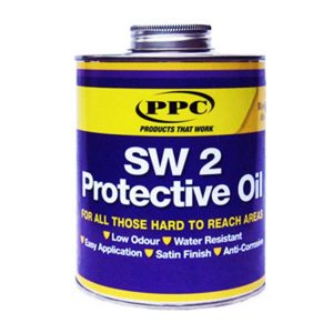 SW2 Protective Coat – Protects bare metal. Water resistant. Paintable.