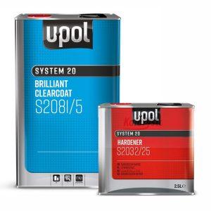 Upol S2081 HS Brilliant 2K Clearcoat 7.5L KIT