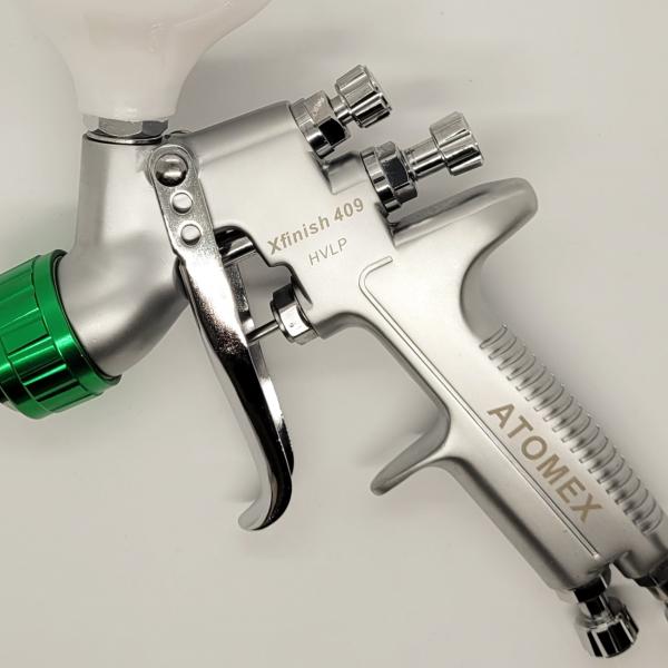 Atomex Xfinish 409 HVLP Gravity Spray Gun