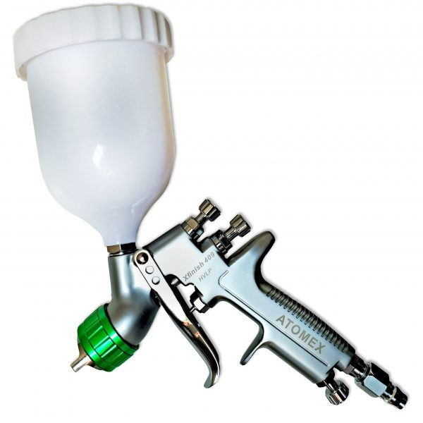 Atomex Xfinish 409 HVLP Gravity Spray Gun