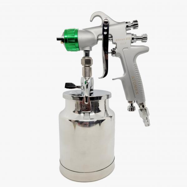 Atomex Xfinish 408 HVLP 2.5mm Suction Spray Gun