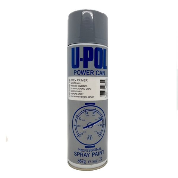 Upol Power Can 1K Grey PRIMER FILLER Aerosol