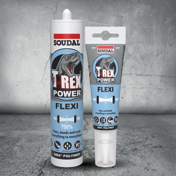 Fixall Flexi White Squeeze Tube 125ml