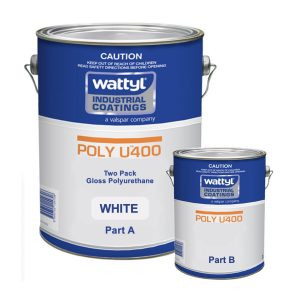 Poly U400 High Opacity White 5L KIT