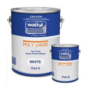 Poly U400 HIGH OPACITY WHITE 5L KIT