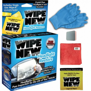 Wipe New Headlight Restorer Kit