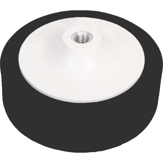150mm Foam Polishing Buff Pad – Black Super Soft