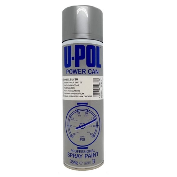 Upol Power Can WHEEL SILVER