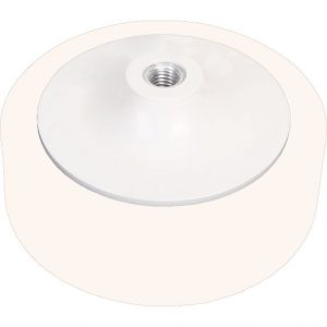 150mm Foam Polishing Buff Pad – White Medium