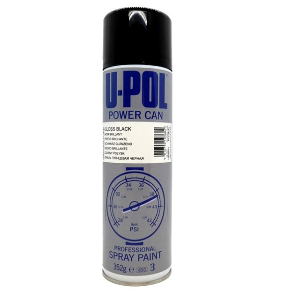 Upol Power Can GLOSS BLACK