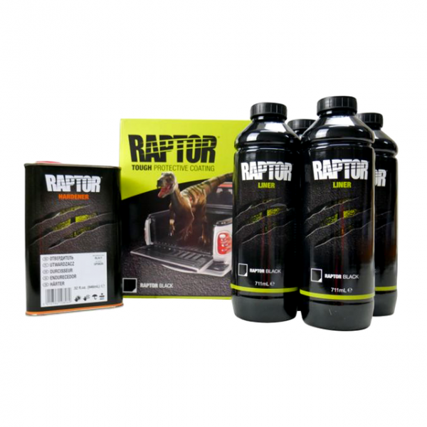 Raptor Liner Black 4L Kit