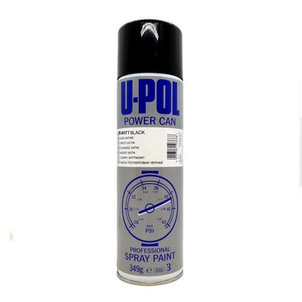 Upol Power Can MATT BLACK