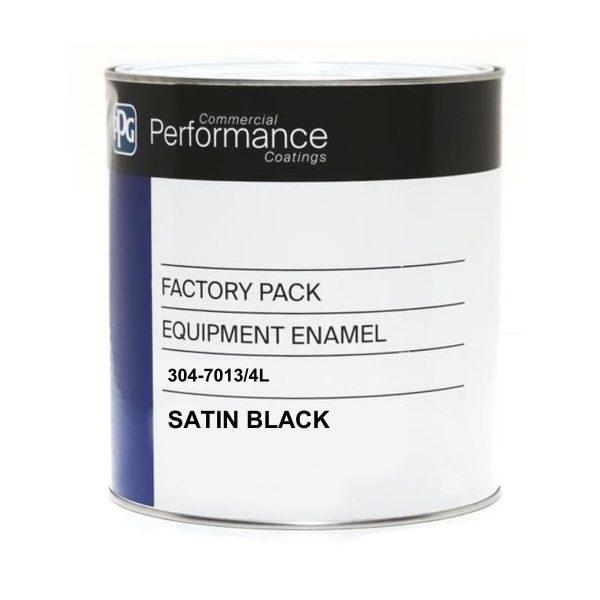 304 Equipment Enamel SATIN BLACK