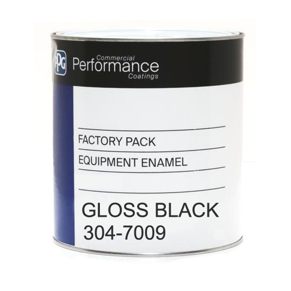 304 Equipment Enamel GLOSS BLACK