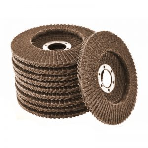 Max Abrase Silver Series Flap Discs 100MM 120G *SLEEVE (10)