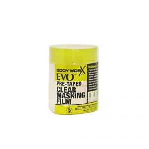 BODYWORX EVO PRE-TAPED MASKING FILM 550MM x 33M REFILL