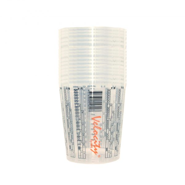VELOCITY PAINT MIXING CUPS 2L SLEEVE OF 25