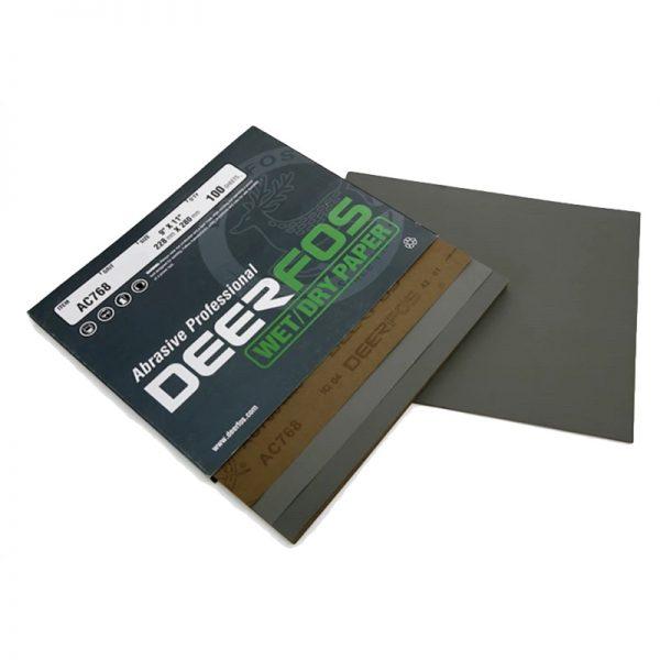 Wet & Dry Sandpaper 120G Sleeve 50