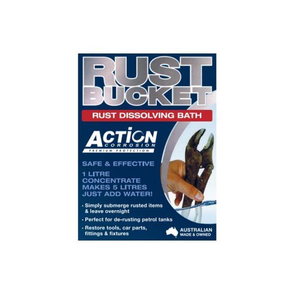 Action Corrosion Rust Bucket
