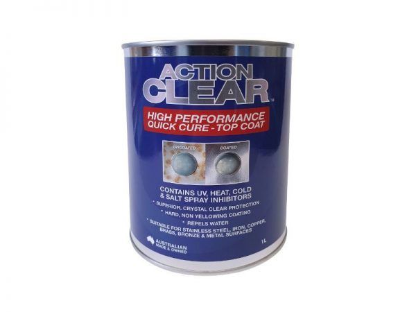 Action Clear Top Coat