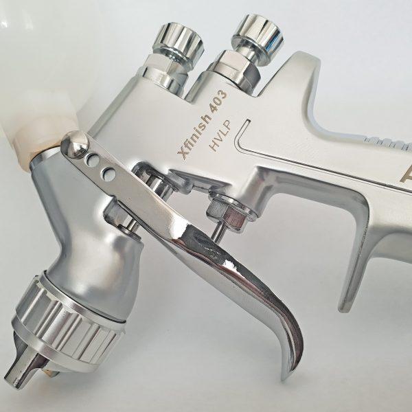 Atomex Xfinish 403 – HVLP Mini Gravity Spray Gun