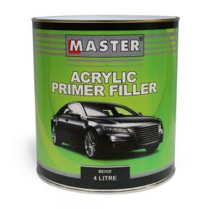 Master Acrylic Primer Filler 4L
