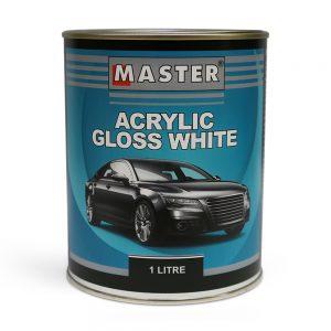 Master Acrylic Lacquer Gloss White 1L