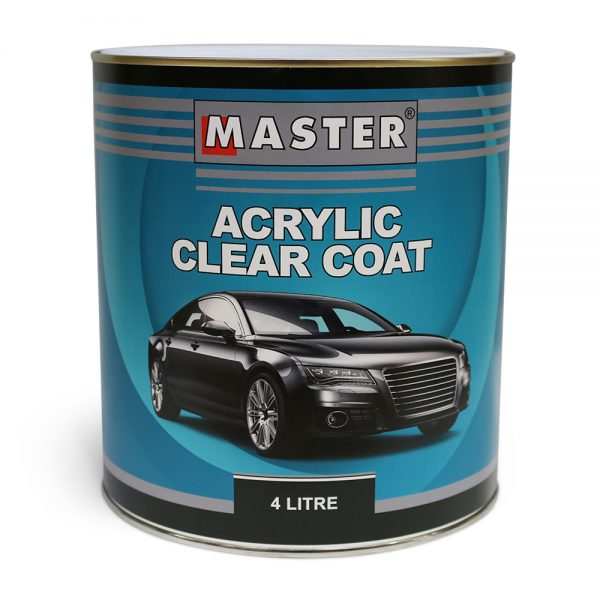 Master Acrylic Lacquer Clear Coat 4L