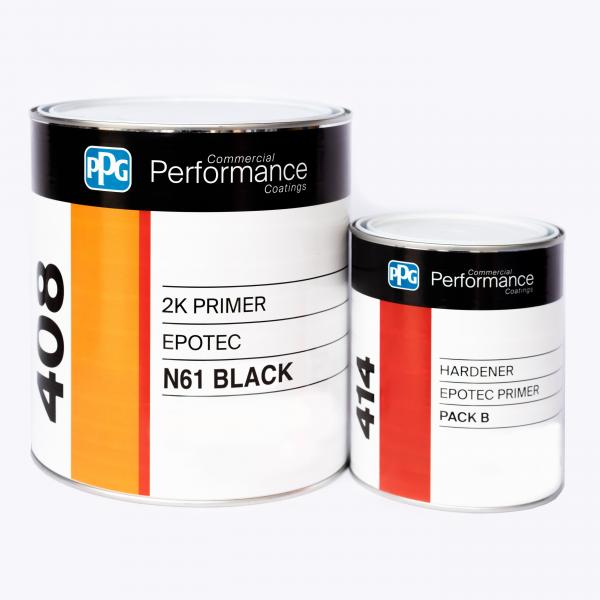 PPG EPOTEC EPOXY PRIMER *BLACK 1.25L KIT