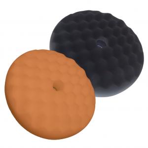 Double Sided Buff Pad Black Orange 200mm