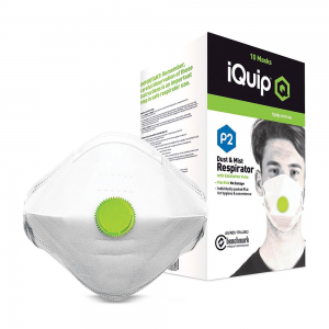 P2 Dust Mask with Valve (10)