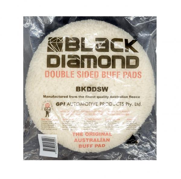 Black Diamond Double Sided Wool Buff Pad
