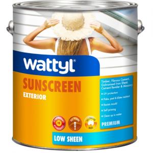 WATTYL PREMIUM EXTERIOR LOW SHEEN WHITE 4L