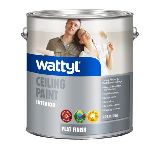 WATTYL PREMIUM INTERIOR CEILING FLAT WHITE 10L